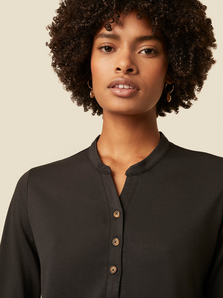 Great Plains Savona Top in Black