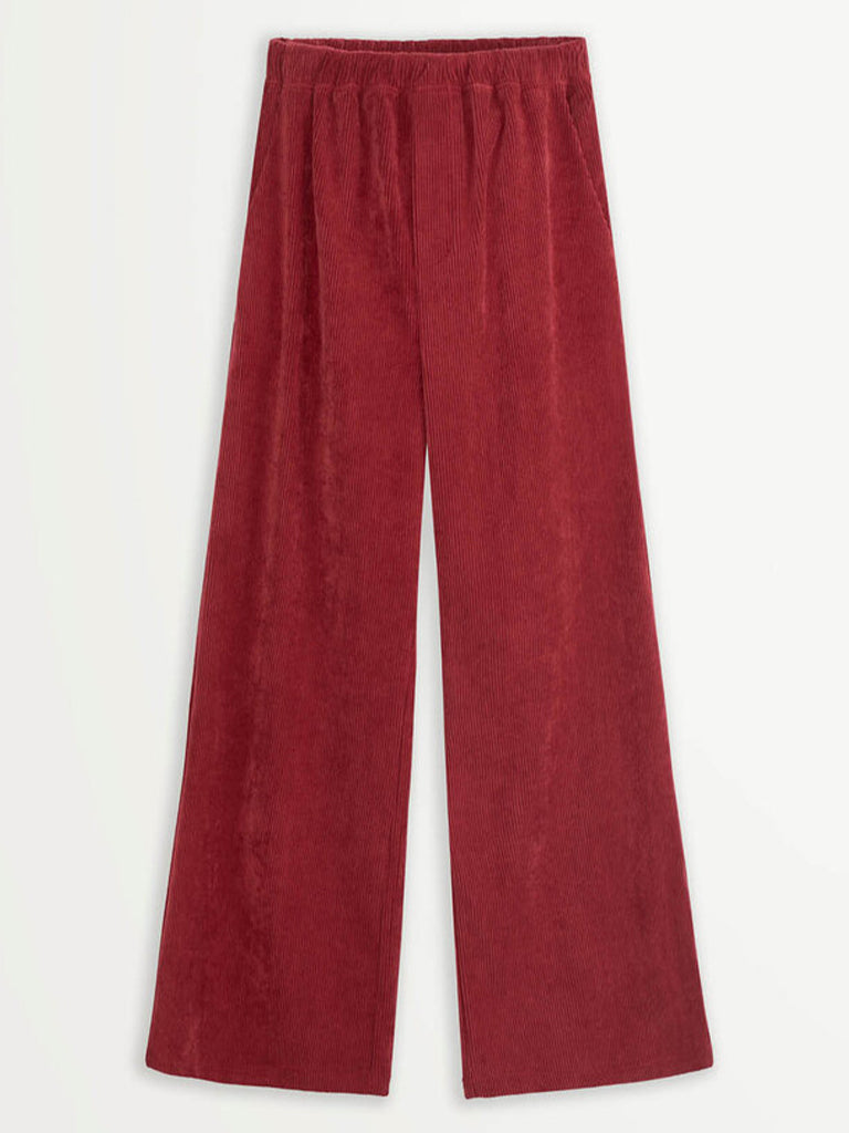 Suncoo Jessy Corduroy Trouser in Bordeaux