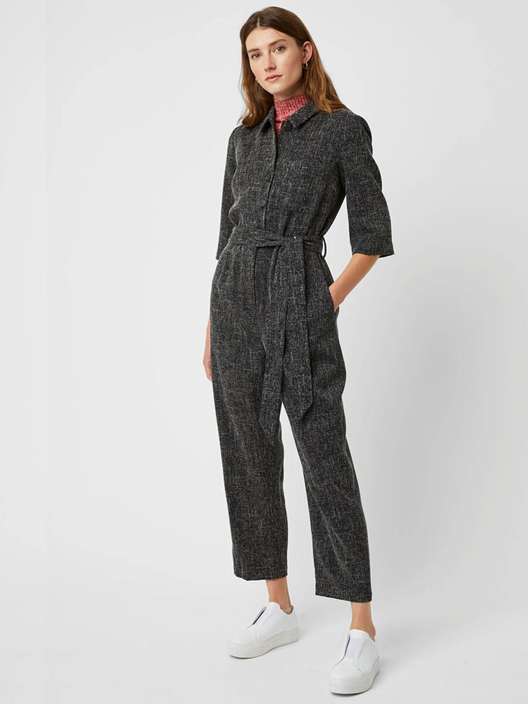 Great Plains Modern Tweed Jumpsuit in Black MultiGreat Plains Modern Tweed Jumpsuit in Black Multi
