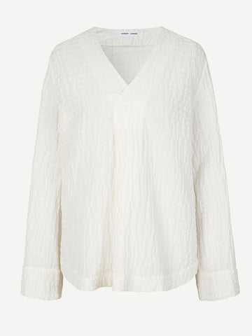 Samsoe Samsoe Juta Blouse in Warm White