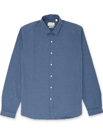 Oliver Spencer Clerkenwell Shirt in Killerton Navy