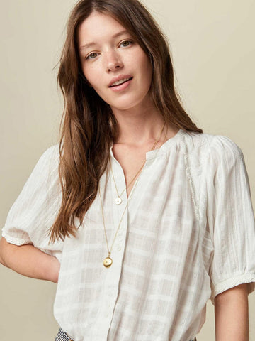 Sessun Kiminzo Blouse in Cream