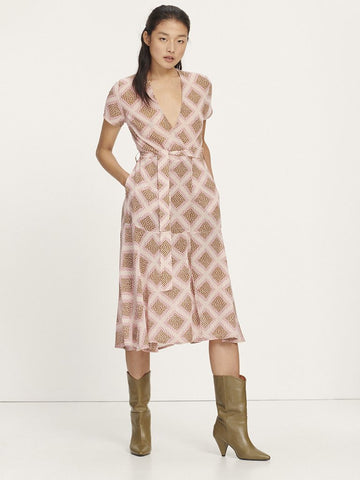 Samsoe Samsoe Klea Long Dress in Foulard