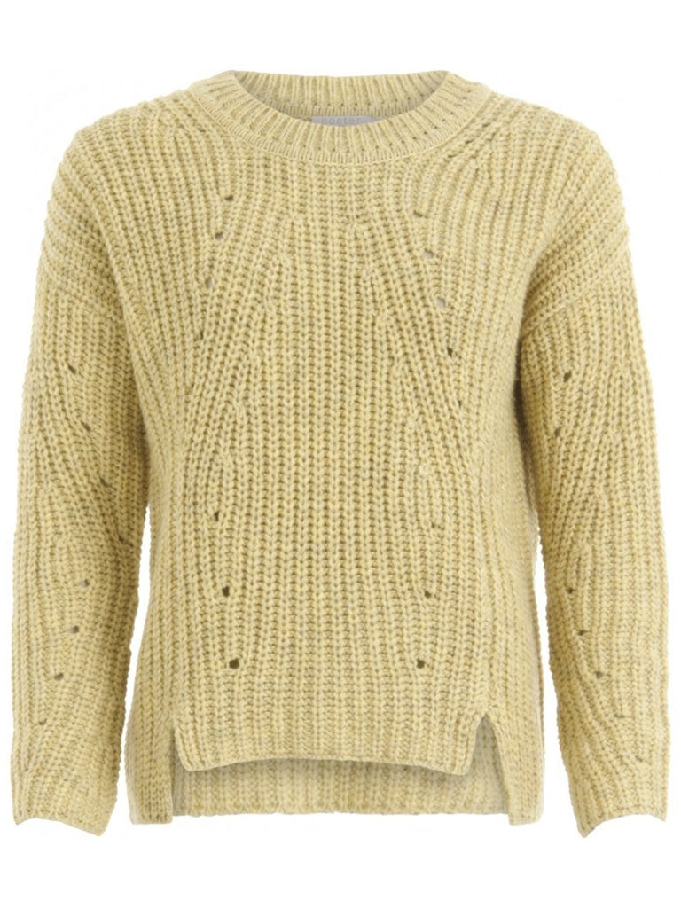 Coster Copenhagen Recycled Sweater in Light Yellow