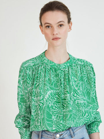 Suncoo Liege Blouse in Green