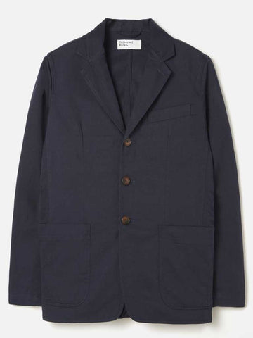 Universal Works London Jacket in Navy Twill