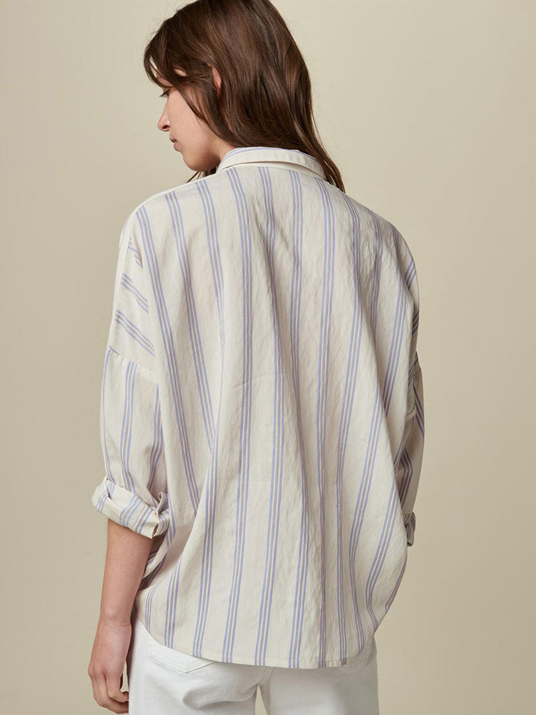 Sessun Darling Ma Stripe Shirt in Whiciel
