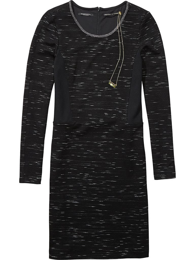 Maison Scotch Fitted Dress