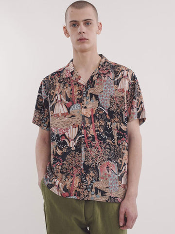 YMC Malick Shirt in Tapestry