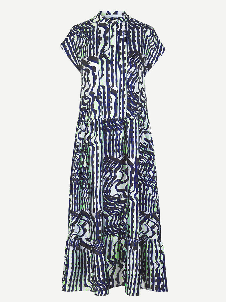 Samsoe Samsoe Margo Dress in Seismograph