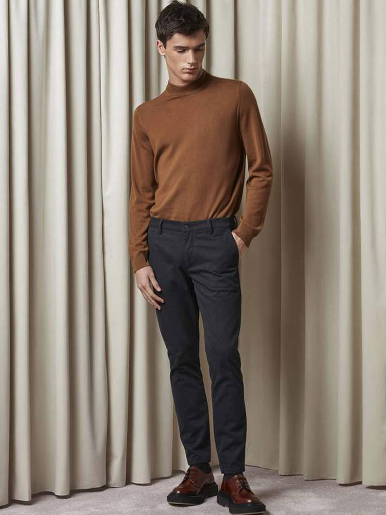 NN07 Martin Knit in Canela Brown