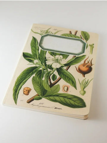 We Act Medlar Botanical Notebook