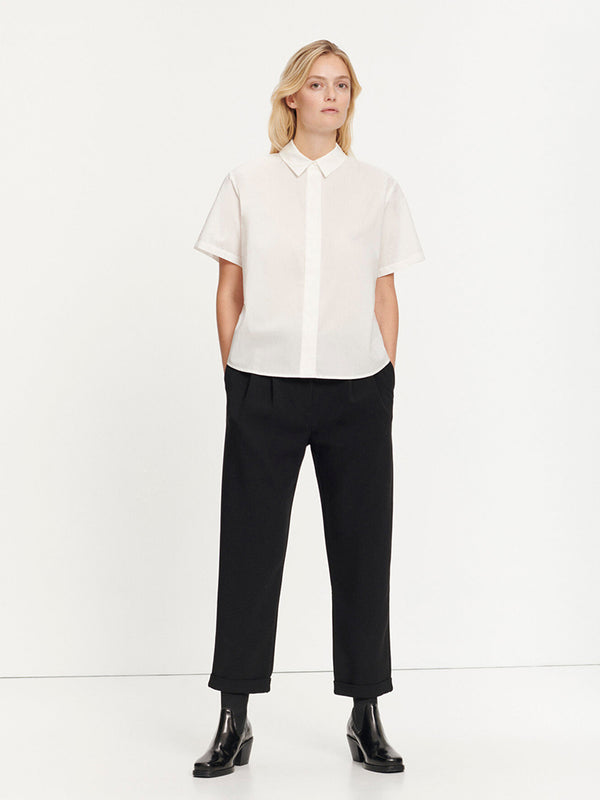 Samsoe Samsoe Mina Shirt in White