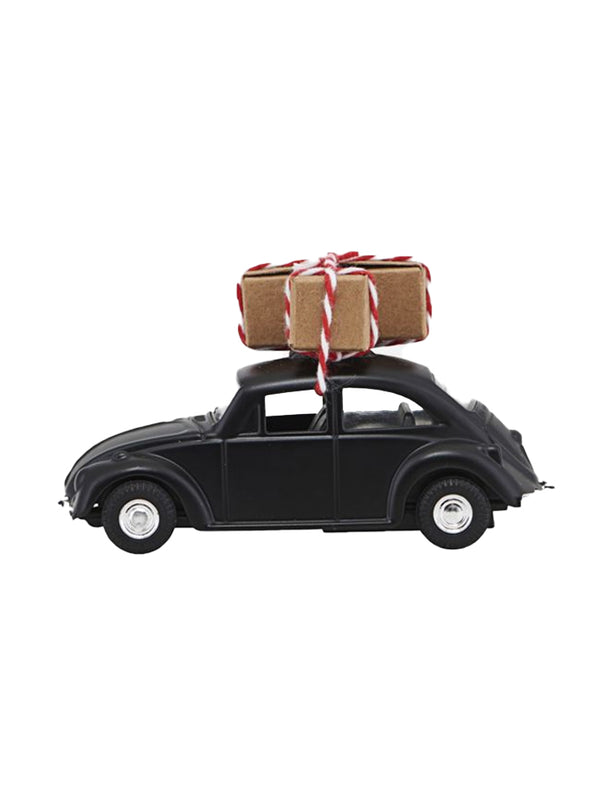 House Doctor Mini Christmas Car in Black