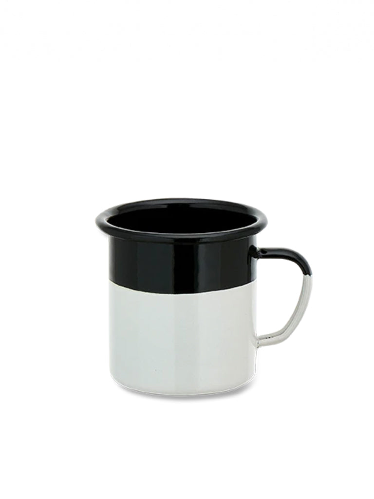 Nkuku Abessa Dipped Mug in Black & White