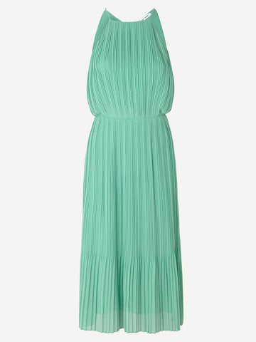 Samsoe Samsoe Myllow Midi Dress in Creme de Menthe