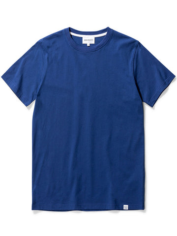 Norse Projects Niels Standard T-Shirt in Twilight Blue
