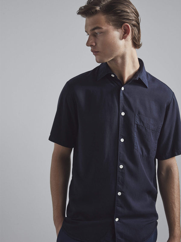 NN07 Errico Shirt in True Blue