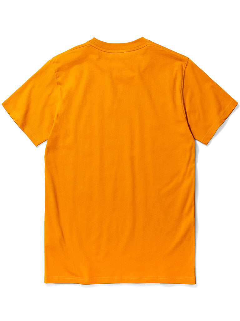 Norse Projects Niels Standard T-Shirt in Cadmium Orange