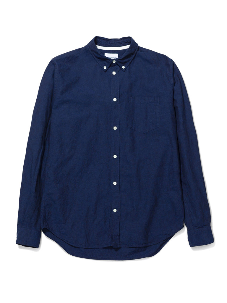 Norse Projects Osvald Shirt in Ultra Marine