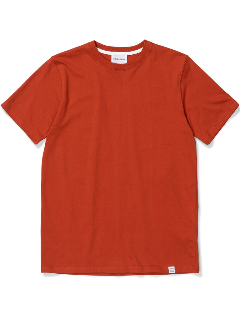 Norse Projects Niels Standard T-Shirt in Industrial Orange