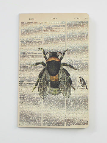 We Act Bee Dictionary Art Notebook
