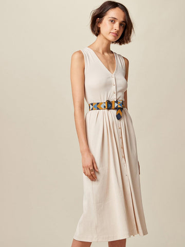 Sessun Keel Jersey Dress in Nude