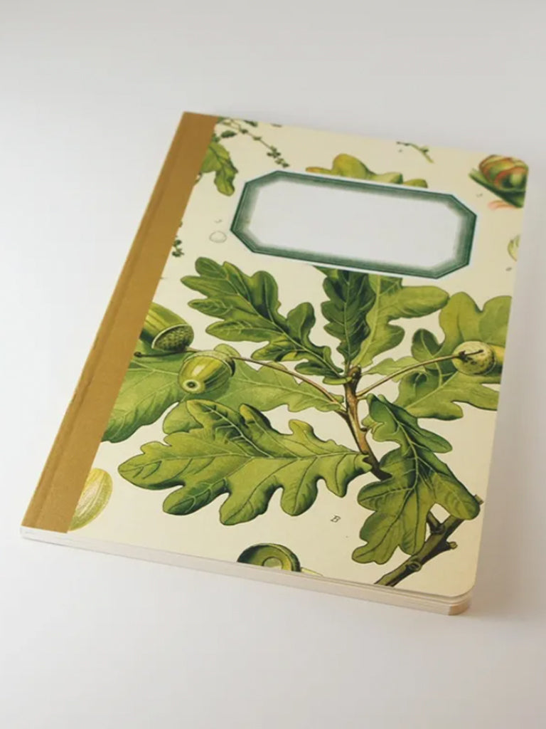 We Act Oak Acorn Botanical Notebook