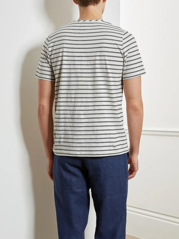Oliver Spencer Conduit T-Shirt in Asham Oatmeal