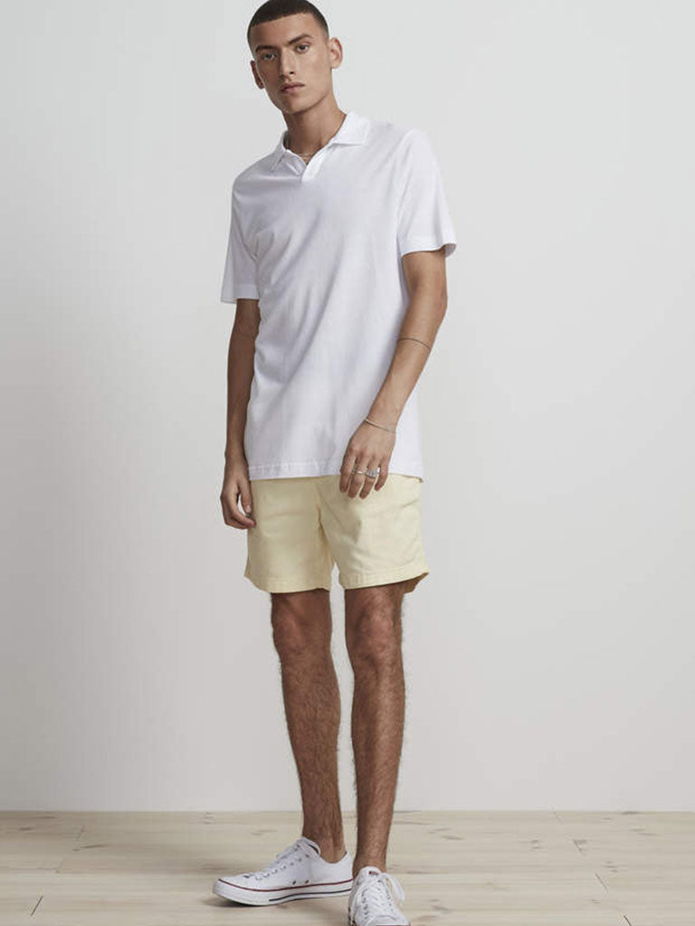 NN07 Paul Polo Shirt in Egg White