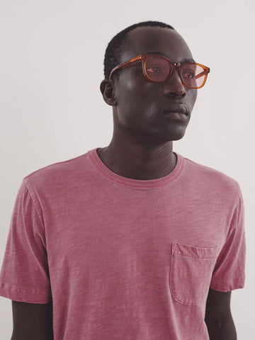 YMC Wild Ones Pocket T-Shirt in Pink