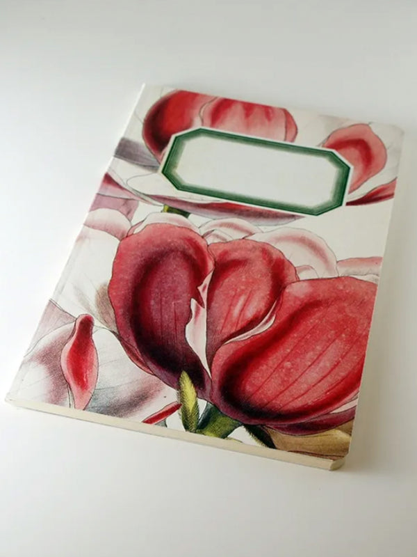 We Act Pink Magnolia Botanical Notebook