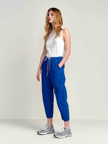 Bellerose Pizzy Trouser in Cobalt