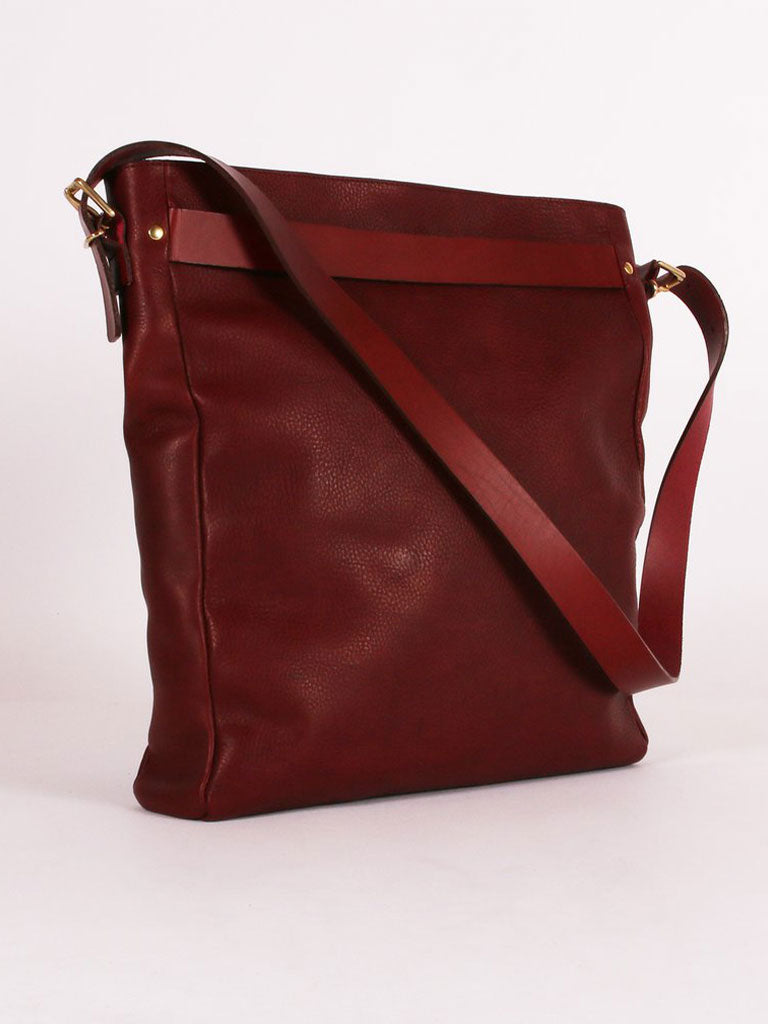 Kate Sheridan Slouch Tote in Plum