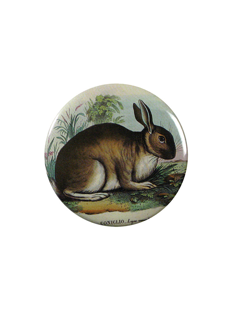 John Derian Rabbit Pocket Mirror