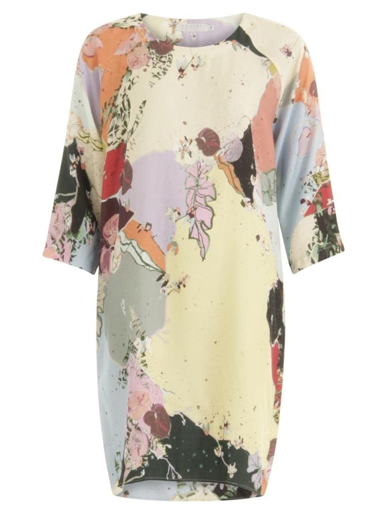 Coster Copenhagen Raglan Dress in Flamingo Flower