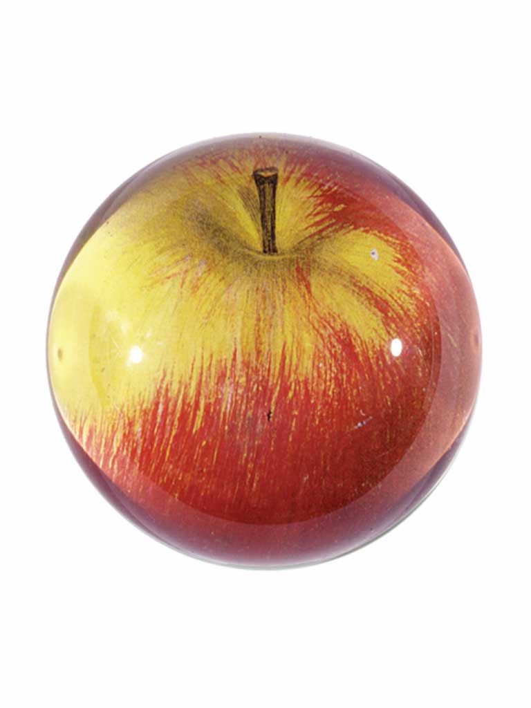 John Derian Red Apple Paperweight