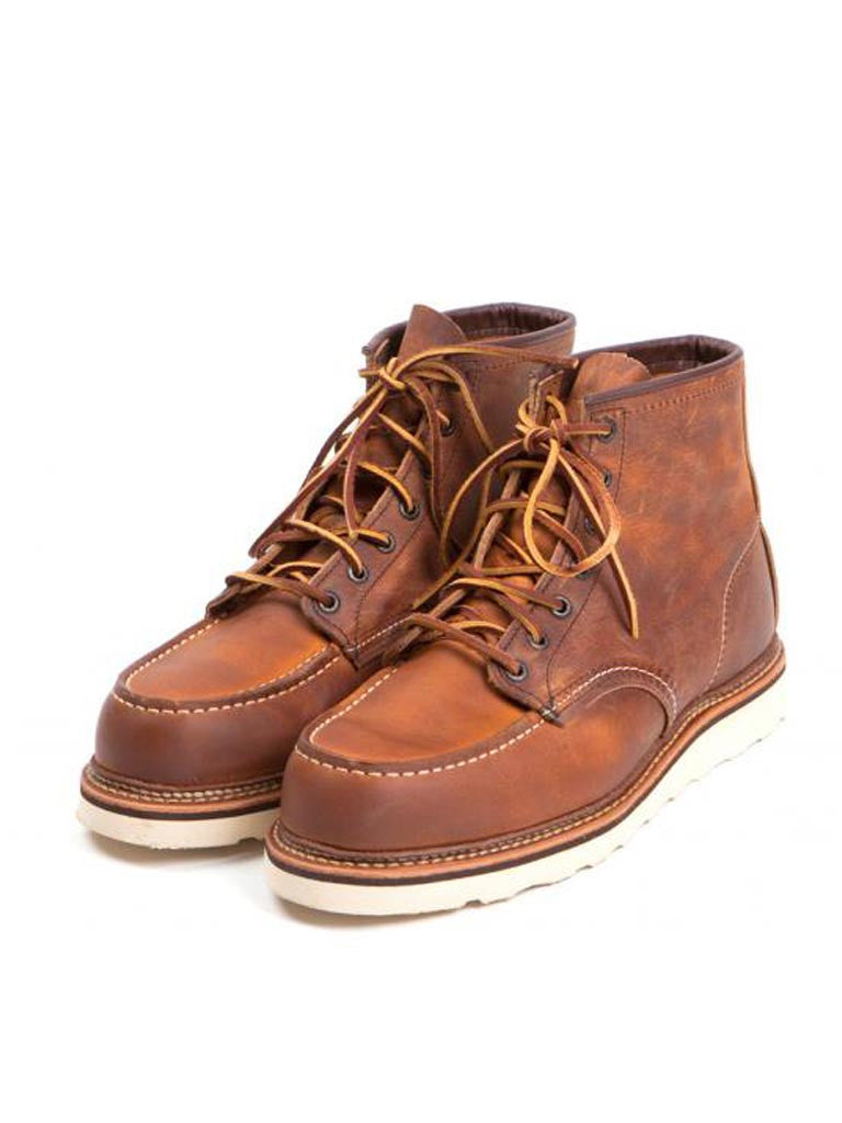 Redwing 1907 Moc Toe Copper Boot