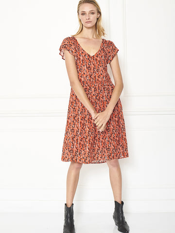 MKT Studio Richti Dress in Vermillion