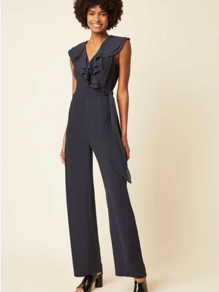 Great Plains Rimini Jumpsuit in Marine Blue