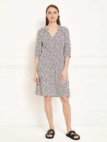 MKT Studio Roklo Dress in Chalk