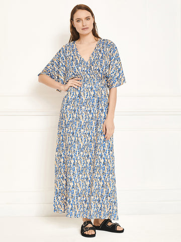 MKT Studio Roman Maxi Dress in Vanilla