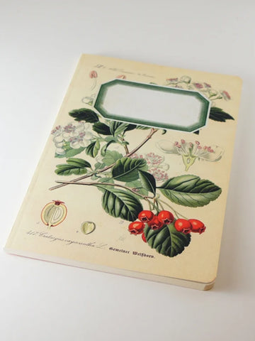 We Act Rosehip Botanical Notebook