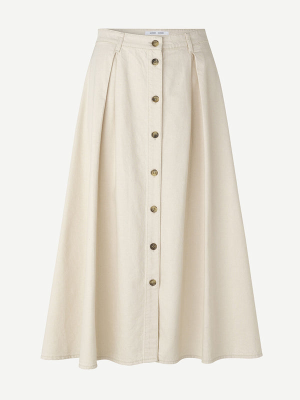 Samsoe Samsoe Rowena Skirt in Warm White