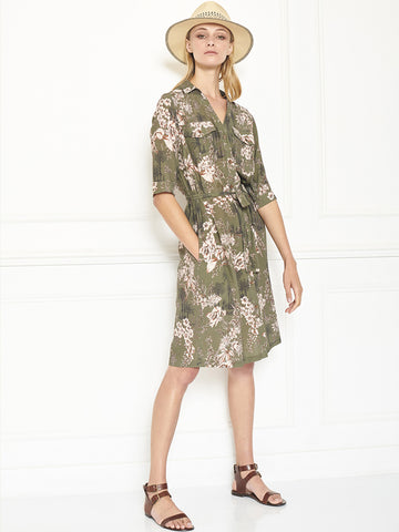 MKT Studio Rulini Dress in Khaki