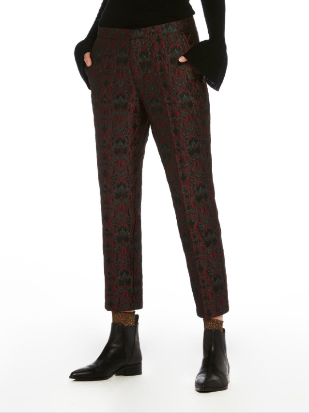 Maison Scotch Jacquard Trousers