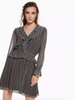 Maison Scotch Voile Ruffle Dress
