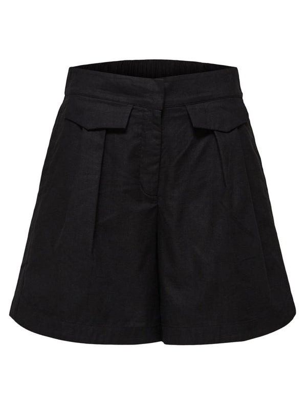 Selected Femme Sesilie Shorts in Black