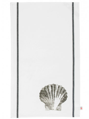 La Cerise Sur Le Gateau Shell Tea Towel