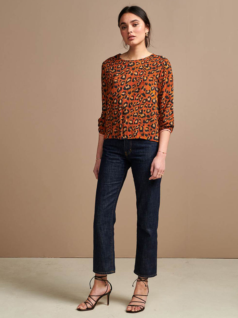 Bellerose Solong Blouse in Russet